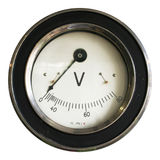 Voltmeter2 Photo stock