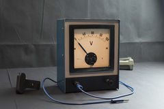 Voltmeter Stock Photography