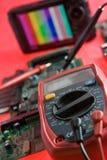 Voltmetro Fotografia Stock
