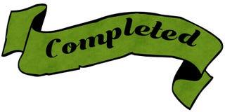 VOLTOOID groen lint vector illustratie