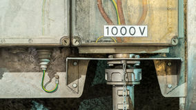1000 volts Images libres de droits