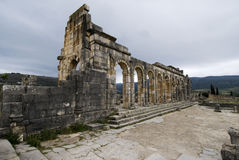 Volubilis. Roman ruins near Fez and Meknes - Best of Morocco Royalty Free Stock Image
