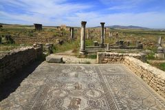 Volubilis Royalty-vrije Stock Fotografie