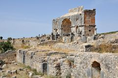 Volubilis Capitol Royalty Free Stock Photography