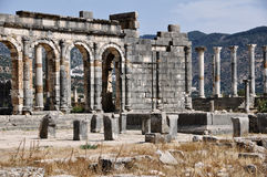 Volubilis Capitol Royalty Free Stock Photo