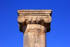 Volubilis, Marokko - Unesco-de plaats van de Werelderfenis Stock Foto