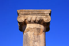 Volubilis, Marrocos - local do patrimônio mundial do UNESCO Foto de Stock