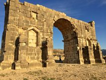 Volubilis. Monument historique volubilis morocco Royalty Free Stock Photography