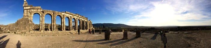 Volubilis. Monument historique volubilis morocco Royalty Free Stock Photos