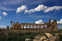 Volubilis, Morocco Royalty Free Stock Photo