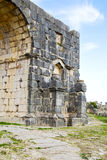 Volubilis in morocco africa   deteriorated monument and site Stock Photography