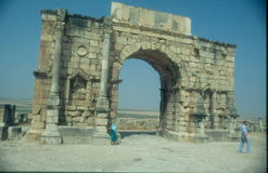 Volubilis, Morocco Stock Photos