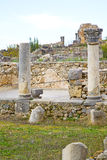 Volubilis in morocco  deteriorated monument and site Royalty Free Stock Photography