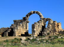 Volubilis - Roman archaeological site, Morocco Stock Image