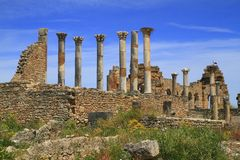 Volubilis. Is a Roman city in Morocco situated near Meknes Stock Photos