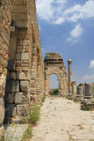 Volubilis ruins, Morocco Royalty Free Stock Images