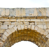 Volubilis w Morocco Africa stary rzymski marniejący zabytek Obraz Royalty Free