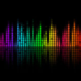 Volume abstract background Royalty Free Stock Images