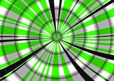 Volume acima do verde Ilustração do Vetor