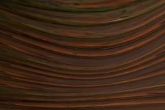 Volume agradável rico do efeito do teste padrão de madeira ondulado escuro Foto de Stock
