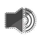 Volume bullhorn symbol Royalty Free Stock Photo
