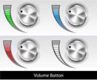 Volume button Stock Photo
