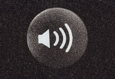 Volume Button Macro Detail Royalty Free Stock Photo