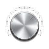 Volume button -music knob royalty free illustration