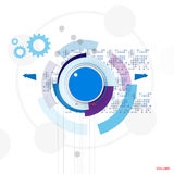 Volume control background abstract illustration Royalty Free Stock Images