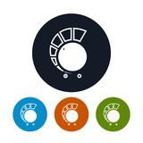 Volume control icon, vector illustration Stock Images