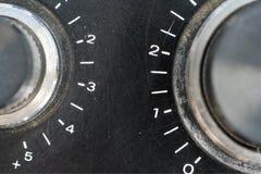 Volume controls Stock Image