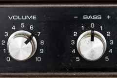 Volume controls Royalty Free Stock Photography