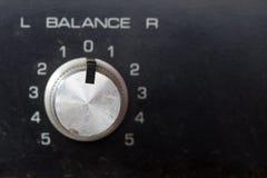 Volume controls Stock Photo