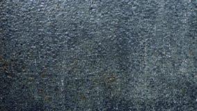 Volume de água na textura do fundo da parede de pedra do tijolo vídeos de arquivo