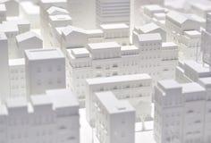 Volume de modèle de ville. Photographie stock libre de droits