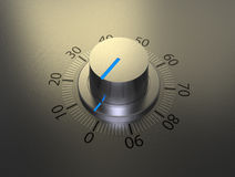 Volume knob Stock Image