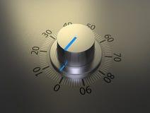 Volume knob Stock Image