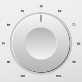 Volume knob 2 Royalty Free Stock Photography