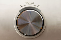 Volume knob Royalty Free Stock Image