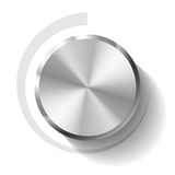Volume knob. Vector illustration of a volume knob Royalty Free Stock Images