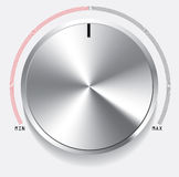Volume knob Royalty Free Stock Photo