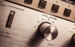 Volume And Loudness Control Stock Images