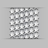 Volume paper stars Stock Photography