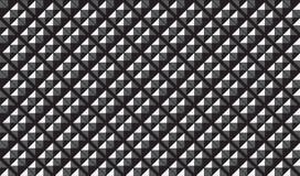 Volume Pattern from dark metallic panels. Industrial background Royalty Free Stock Photo