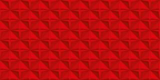Volume realistische rode textuur, geometrisch naadloos tegelspatroon, vectorontwerpachtergrond voor u projecten vector illustratie