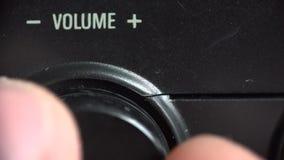 Volume Regulation, Adjusting. Moving Regulator. Macro. 4K UltraHD, UHD. Volume  Regulation Adjusting. Moving Regulator. Macro. 4K UltraHD, UHD stock footage