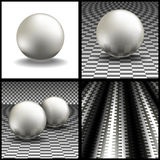 Volume spheres Stock Photo