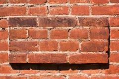 Volume texture of red brick, photo. Volume texture of red brick Stock Photos