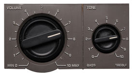 Volume And Tone Control Panel Royalty Free Stock Images