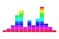 Colore del volume Immagine Stock Libera da Diritti